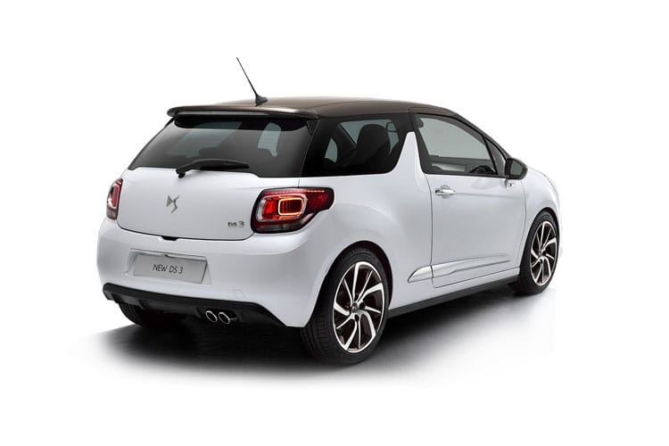 DS Automobiles DS 3 Hatch 3Dr 1.2 PureTech 130PS Prestige 3Dr Manual [Start Stop] back view