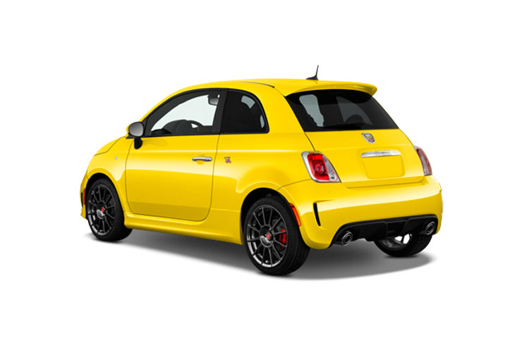 Abarth 595 Hatch 3Dr 1.4 T-Jet 180PS Competizione 70th 3Dr Auto back view