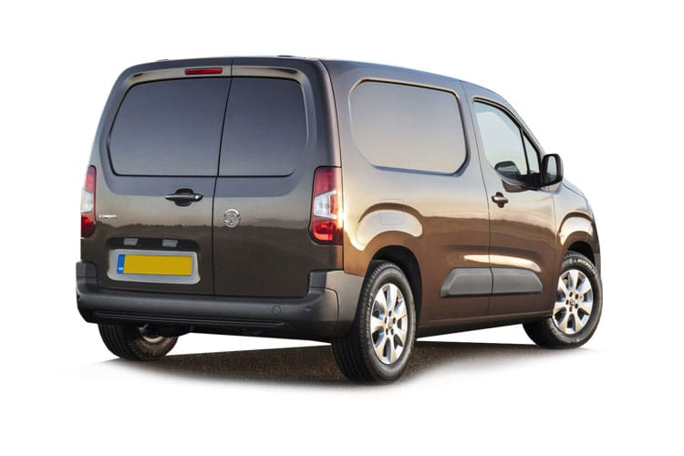 Vauxhall Combo Cargo L1 2300 1.5 Turbo D FWD 130PS Sportive Van Auto [Start Stop] back view