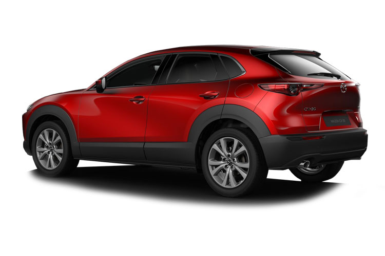 Mazda CX-30 SUV 2.0 e-SKYACTIV G MHEV 122PS GT Sport Tech 5Dr Auto [Start Stop] back view