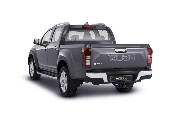 Isuzu D-MAX Pick Up Double Cab 4wd 1.9 TD 4WD 164PS DL40 Pickup Double Cab Auto [Start Stop] back view