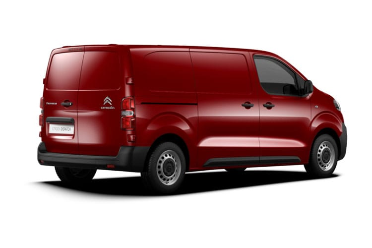 Citroen Dispatch XL 1400Kg 2.0 BlueHDi FWD 120PS Enterprise Van Manual [Start Stop] back view