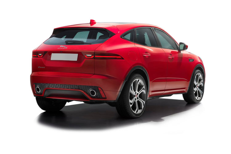 Jaguar E-PACE SUV AWD 1.5 P300e PHEV 12.4kWh 309PS R-Dynamic SE 5Dr Auto [Start Stop] back view