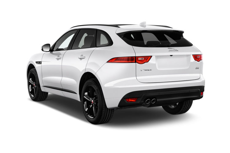 Jaguar F-PACE SUV AWD 2.0 i 250PS Chequered Flag 5Dr Auto [Start Stop] back view