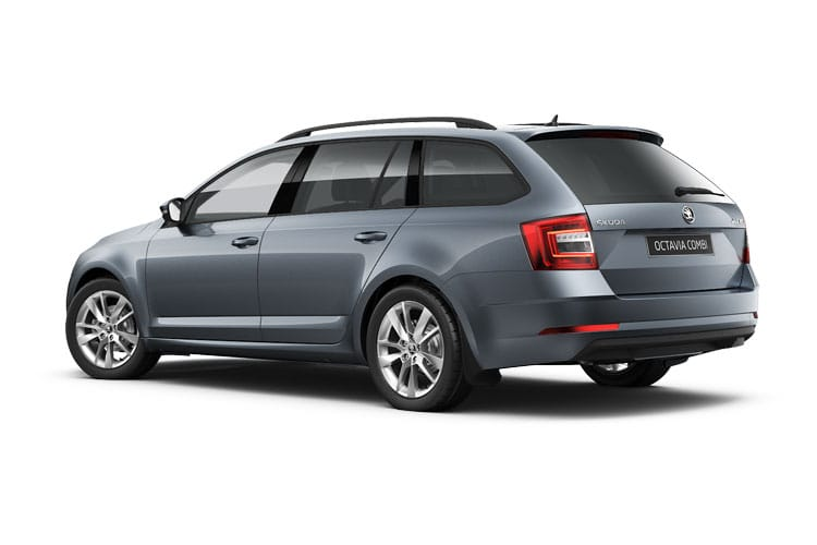 Skoda Octavia Estate 2.0 TDi 200PS vRS 5Dr DSG [Start Stop] back view
