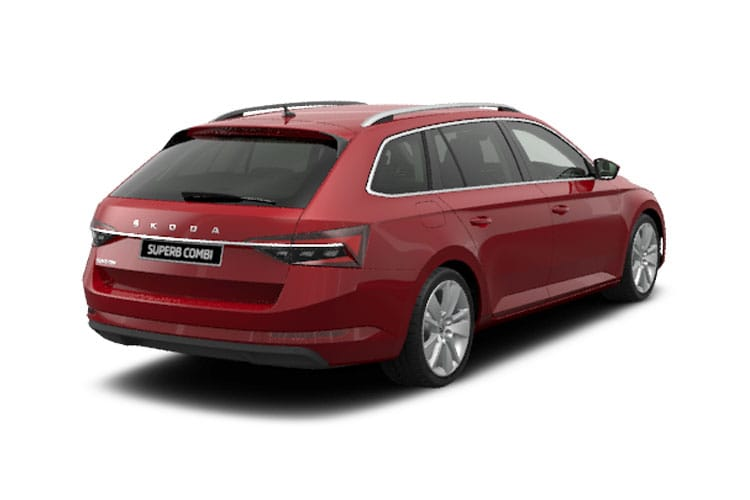 Skoda Superb Estate 2.0 TDi 200PS SE L 5Dr DSG [Start Stop] back view