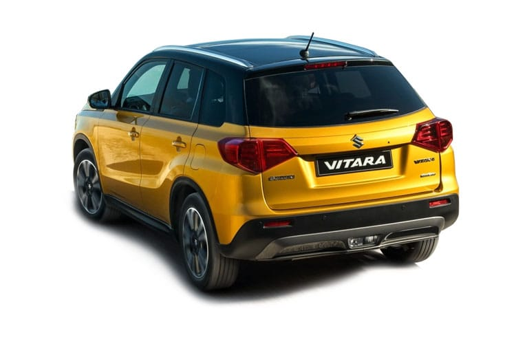 Suzuki Vitara SUV ALLGRIP 1.4 Boosterjet MHEV 129PS SZ-T 5Dr Manual [Start Stop] back view
