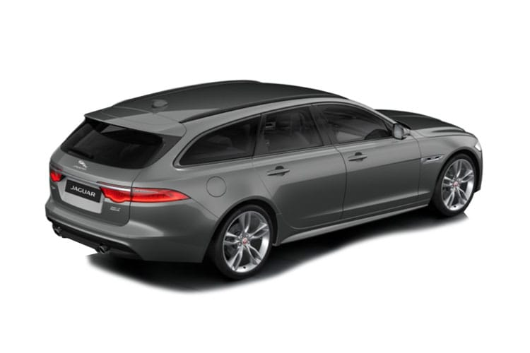 Jaguar XF Sportbrake 2.0 d MHEV 204PS R-Dynamic S 5Dr Auto [Start Stop] back view