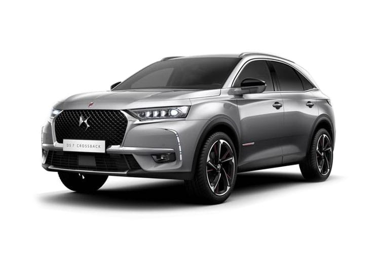 DS Automobiles DS 7 Crossback SUV 5Dr 4x4 1.6 E-TENSE PHEV 13.2kWh 300PS Performance Line 5Dr EAT8 [Start Stop] front view