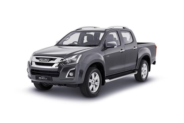 Isuzu D-MAX Pick Up Double Cab 4wd 1.9 TD 4WD 164PS DL40 Pickup Double Cab Auto [Start Stop] front view