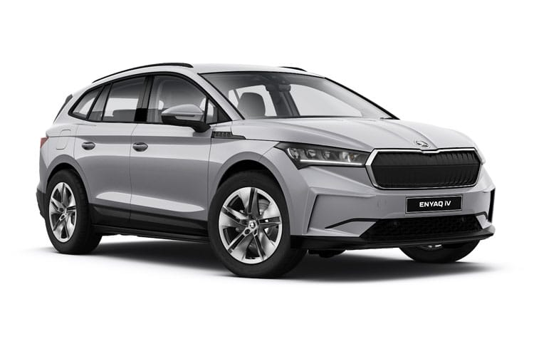 Skoda Enyaq iV 60 SUV Elec 62kWh 132KW 179PS  5Dr Auto [Suite] front view