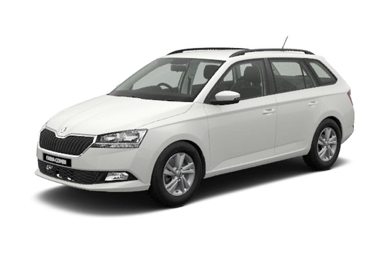 Skoda Fabia Estate 1.0 TSi 110PS SE 5Dr Manual [Start Stop] front view