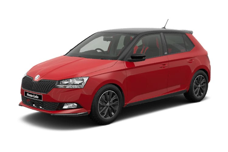 Skoda Fabia Hatch 5Dr 1.0 TSi 110PS Monte Carlo 5Dr Manual [Start Stop] front view