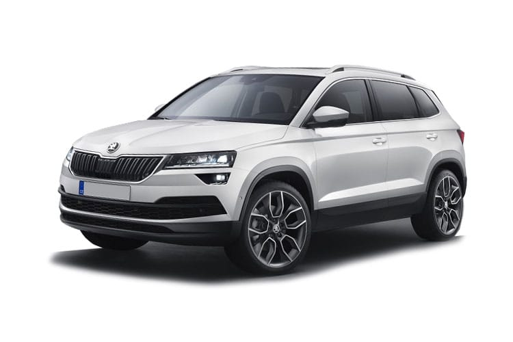 Skoda Karoq SUV 1.0 TSi 110PS SE 5Dr Manual [Start Stop] front view
