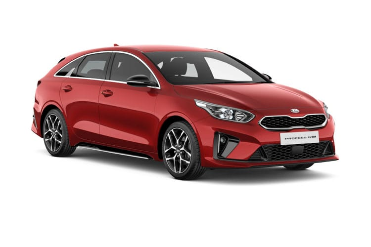 Kia Ceed ProCeed Shooting Brake 5Dr 1.5 T-GDI 158PS GT Line S 5Dr DCT [Start Stop] front view