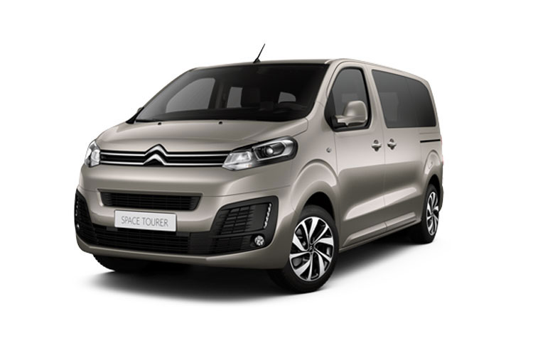 Citroen SpaceTourer e-SpaceTourer M 5Dr Elec 50kWh 100KW FWD 136PS Feel MPV Auto [8Seat 11kW Charger] front view