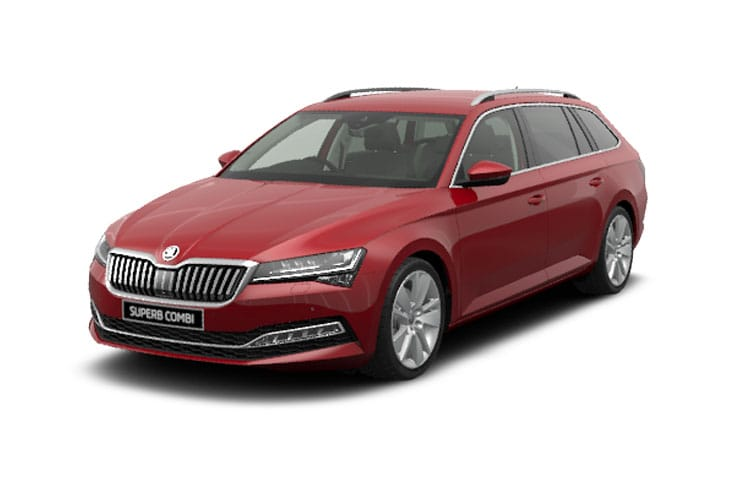 Skoda Superb Estate 2.0 TDi 200PS SE L 5Dr DSG [Start Stop] front view