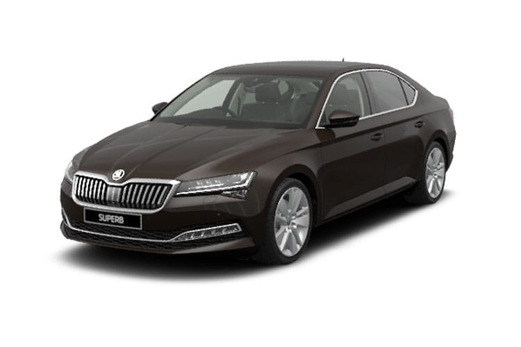 Skoda Superb Hatch 5Dr 4x4 2.0 TDi 190PS SportLine Plus 5Dr DSG [Start Stop] front view