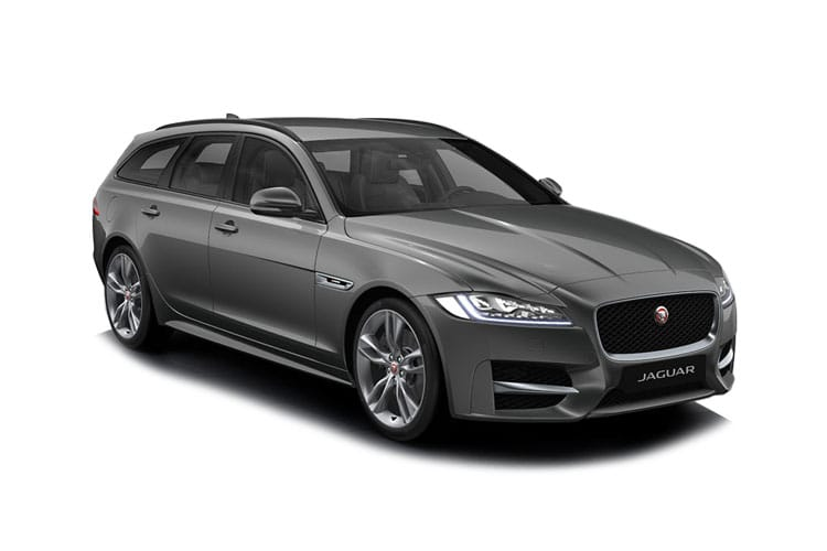 Jaguar XF Sportbrake 2.0 d MHEV 204PS R-Dynamic S 5Dr Auto [Start Stop] front view