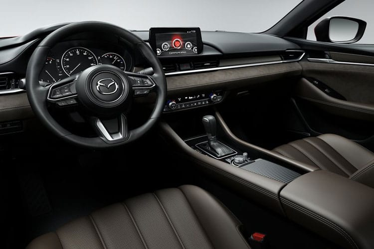 Mazda Mazda6 Tourer 2.5 SKYACTIV-G 194PS GT Sport 5Dr Auto [Start Stop] inside view