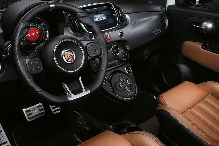 Abarth 595 Hatch 3Dr 1.4 T-Jet 180PS Competizione 70th 3Dr Auto inside view