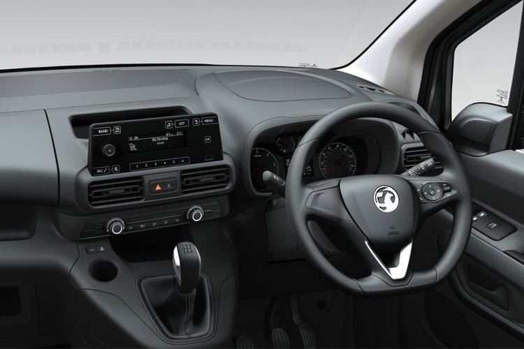 Vauxhall Combo Cargo L2 2300 1.5 Turbo D FWD 100PS Sportive Crew Van Manual [Start Stop] inside view