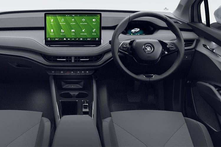 Skoda Enyaq iV 60 SUV Elec 62kWh 132KW 179PS  5Dr Auto [Suite] inside view