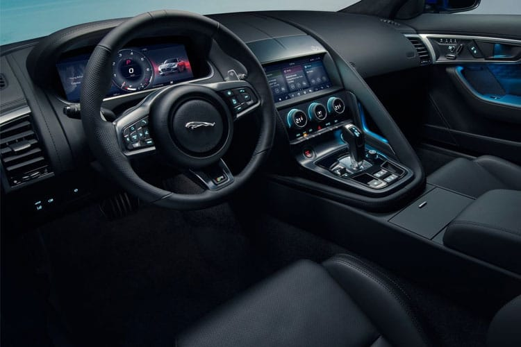 Jaguar F-TYPE Coupe 2.0 i 300PS R-Dynamic 2Dr Auto [Start Stop] inside view