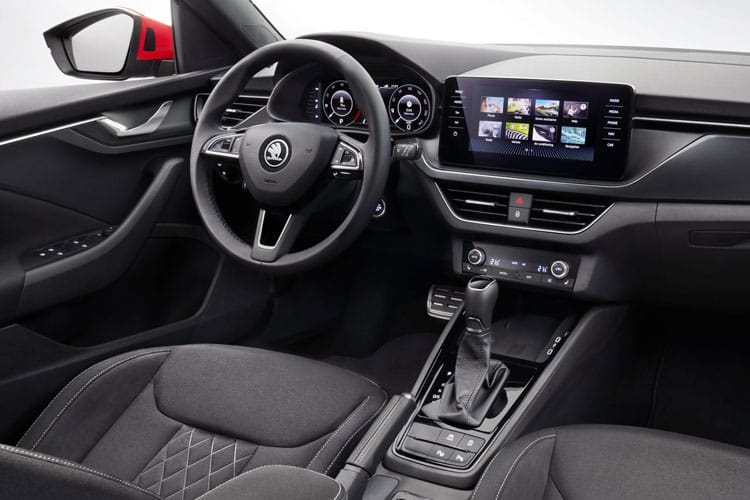 Skoda Kamiq SUV 1.5 TSi ACT 150PS Monte Carlo 5Dr DSG [Start Stop] inside view