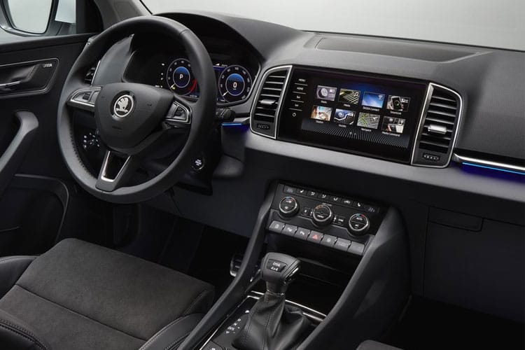 Skoda Karoq SUV 1.0 TSi 110PS SE 5Dr Manual [Start Stop] inside view
