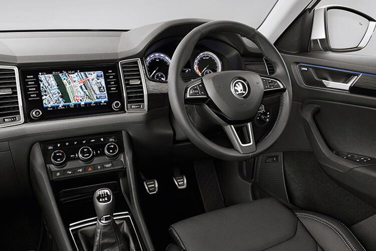 Skoda Kodiaq SUV 1.5 TSi ACT 150PS SE 5Dr Manual [Start Stop] [5Seat] inside view