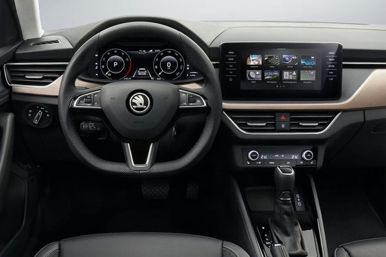 Skoda Scala Hatch 5Dr 1.5 TSi 150PS Monte Carlo 5Dr Manual [Start Stop] inside view