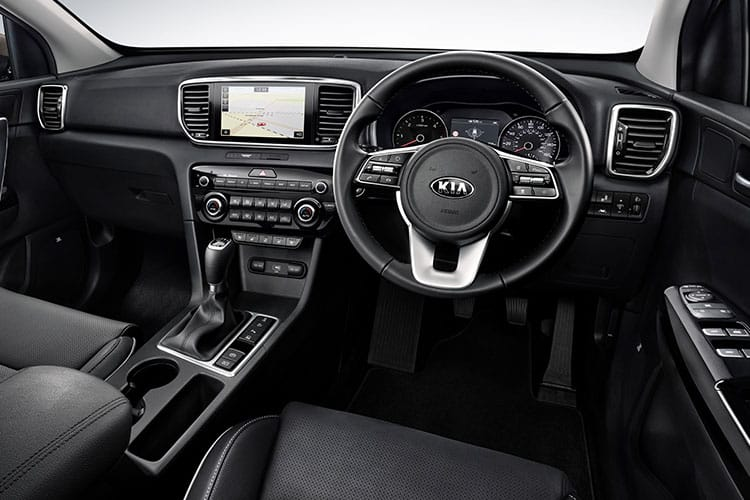 Kia Sportage SUV 2wd 1.6 CRDi MHEV 134PS JBL Black Edition 5Dr Manual [Start Stop] inside view