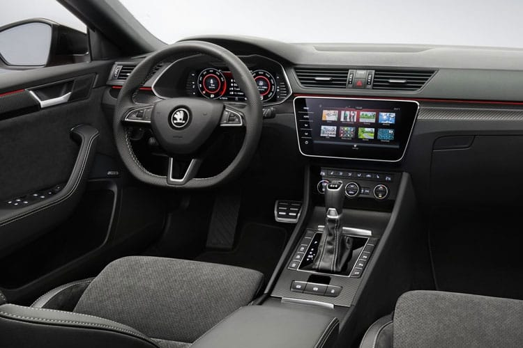Skoda Superb Estate 1.6 TDi 120PS S 5Dr DSG [Start Stop] inside view